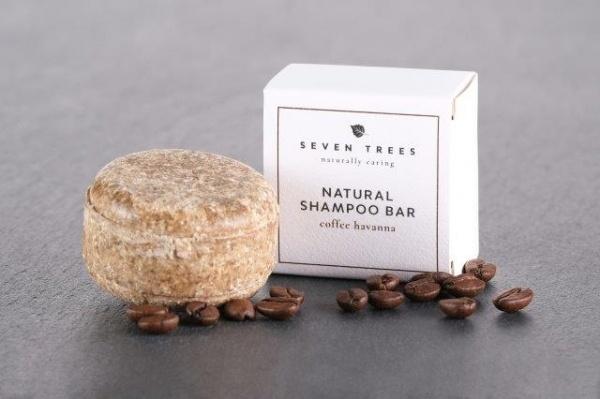 SEVEN TREES festes shampoo COFFEE HAVANA