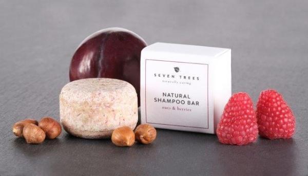SEVEN TREES shampoo bar NUTS & BERRIES