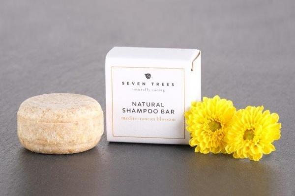 SEVEN TREES solid shampoo MEDITERRANEAN BLOSSOM