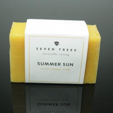 summer sun sweet orange soap