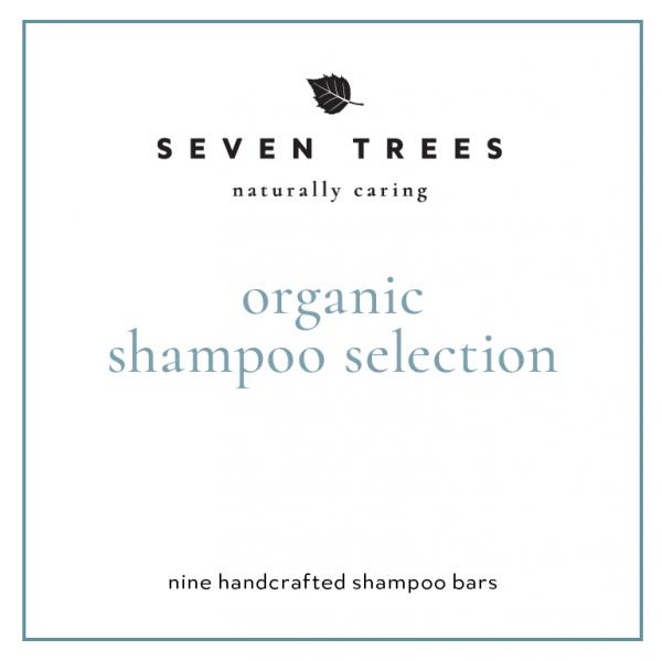organic shampoo selection